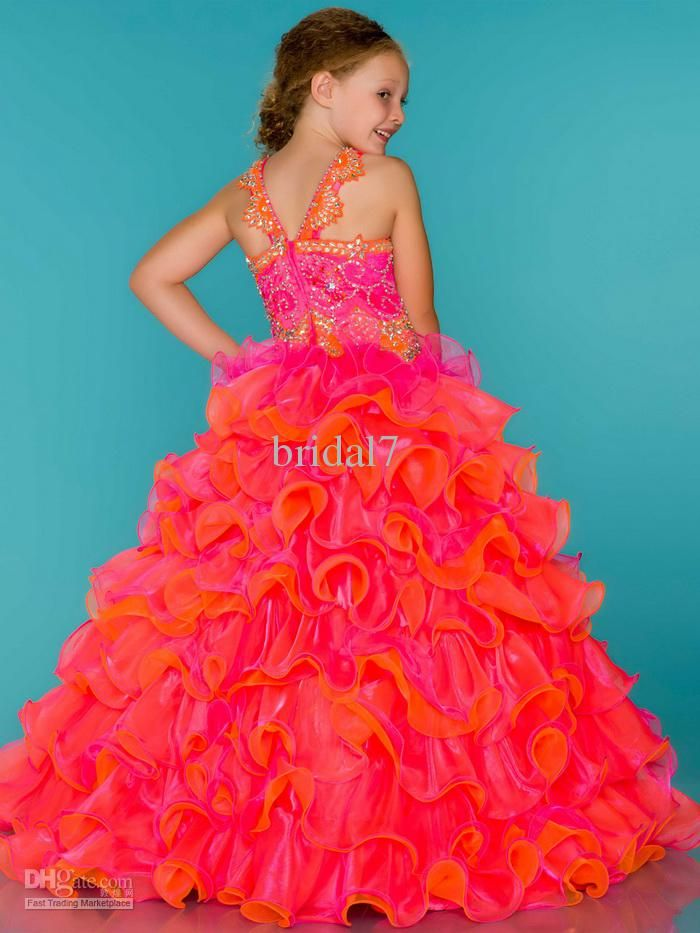 Summer Dresses for Teens Pageant