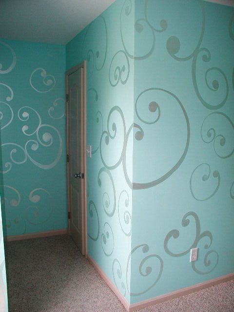 For a baby room.  Maybe a best friend painting session!