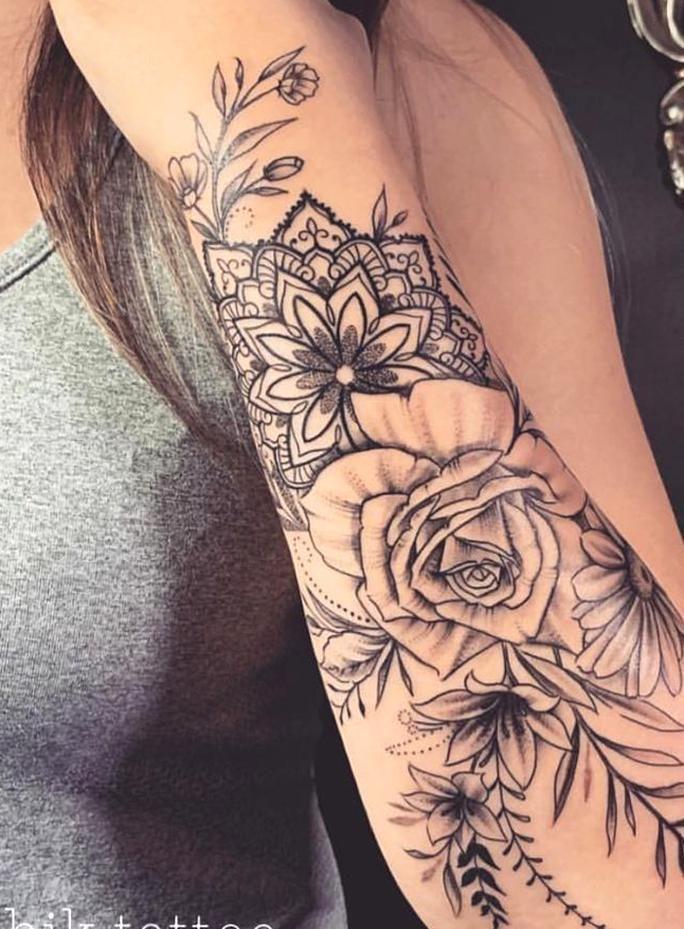 Sleeve Tattoos For Women Tattoo Ideas Sleeve Tattoos For Women Tattoo Idea Forearm Tattoo Women Tattoos For Women Flowers Tattoos For Women Half Sleeve