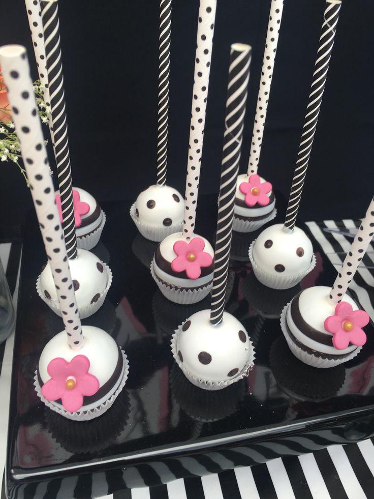 Kate Spade Inspired Cake Pops CakepopsBridal