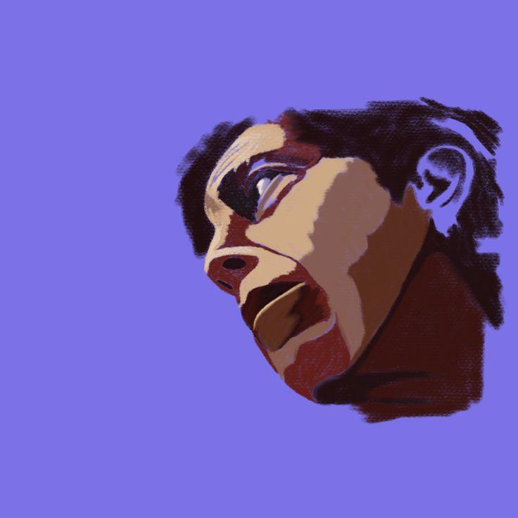 Starting a new piece. #art #aboriginal #draw #digitalart #computer #procreateapp