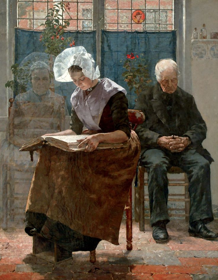 The Absent One On All Soul's Day, Walter MacEwen | Dutch Utopia: American Artists In Holland, 1880-1914