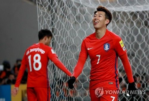 Son Heung-min made most appearances among S. Korean footballers in 2016: KFA