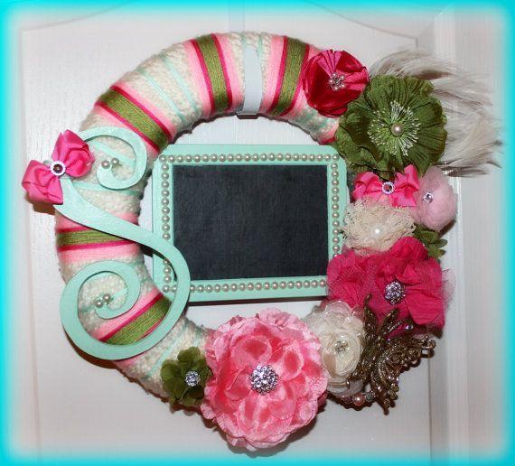 Baby Hospital Door Wreath