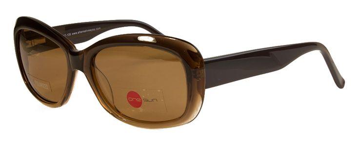 ONE SUN 44 C1 BROWN | Vogue Optical - 2nd Pair Free - Designer Glasses, 2 Year Guarantee