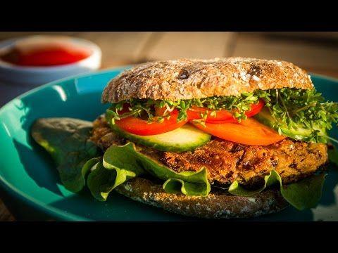 Azuki Bohnen Burger - Der Bio Koch