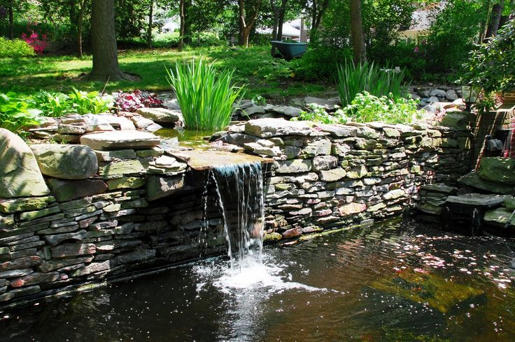 49 best slope drainage images on pinterest landscaping backyard ideas and garden ideas - Corner pond ideas ...