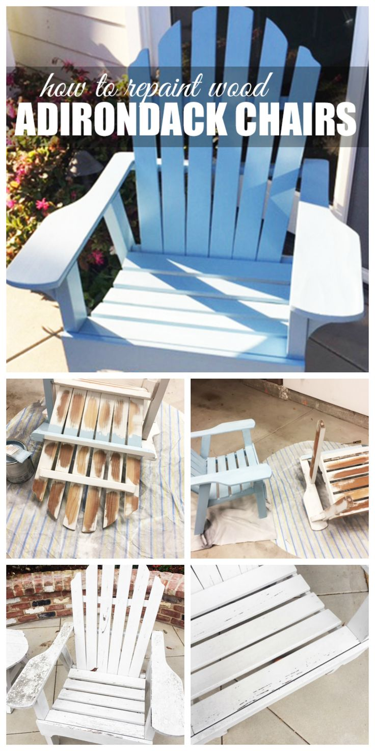 do it yourself wood furniture. how to repaint wood adironack chairs do it yourself furniture