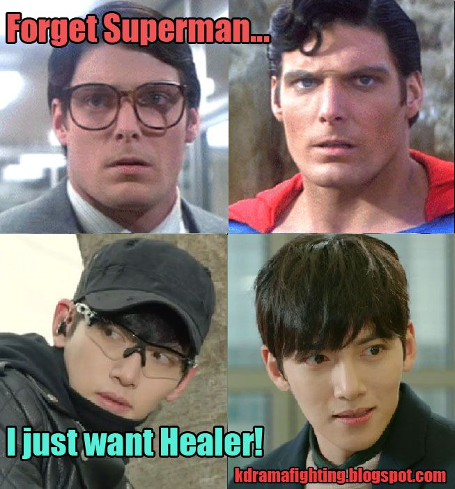8 Factors fueling our Healer obsession - 1. The whole Clark Kent/Healer vibe