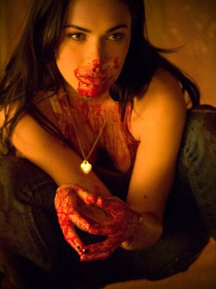 So sexy, even covered in blood.