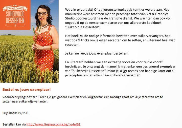 Tineke's Cucina Kookboek Suikervrije Desserten