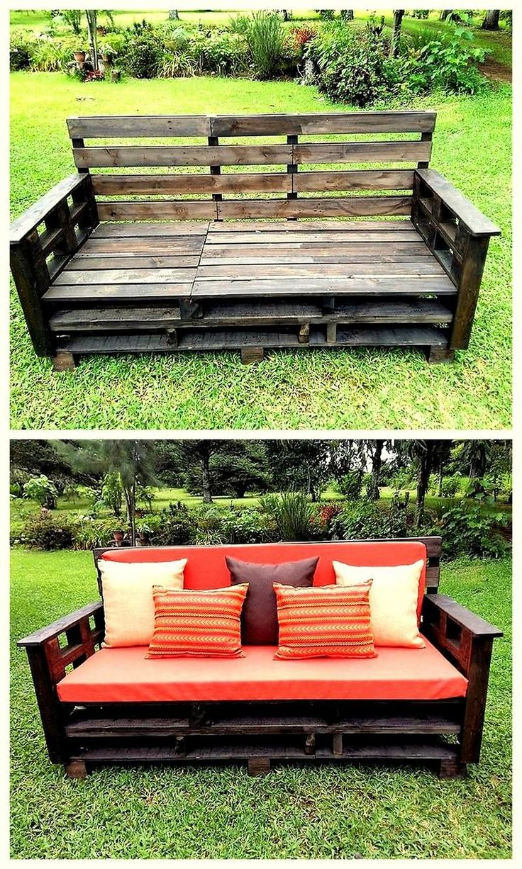 pallet outdoor seating furniture