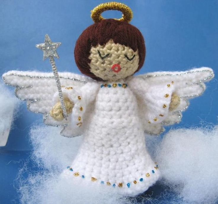 Amigurumi Angel - Crochet Pattern PDF | Craftsy
