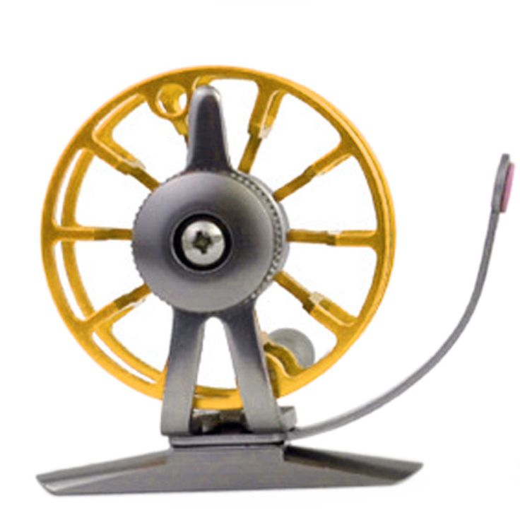 New Aluminum Fly Fishing Reel Diameter 55mm Size Right or Left Hand Retrieve Sports Bicycle  Fishing Accessory Tool July 17