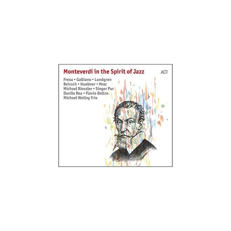 Divers Interpretes - Monteverdi in the Spirit of Jazz (CD)