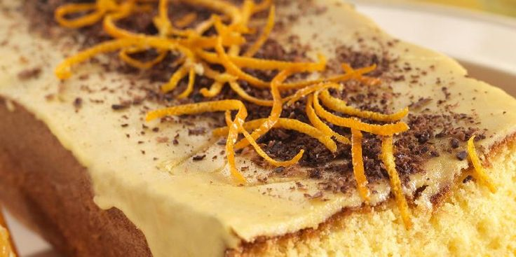 Lett kake med deilig appelsinsmak.