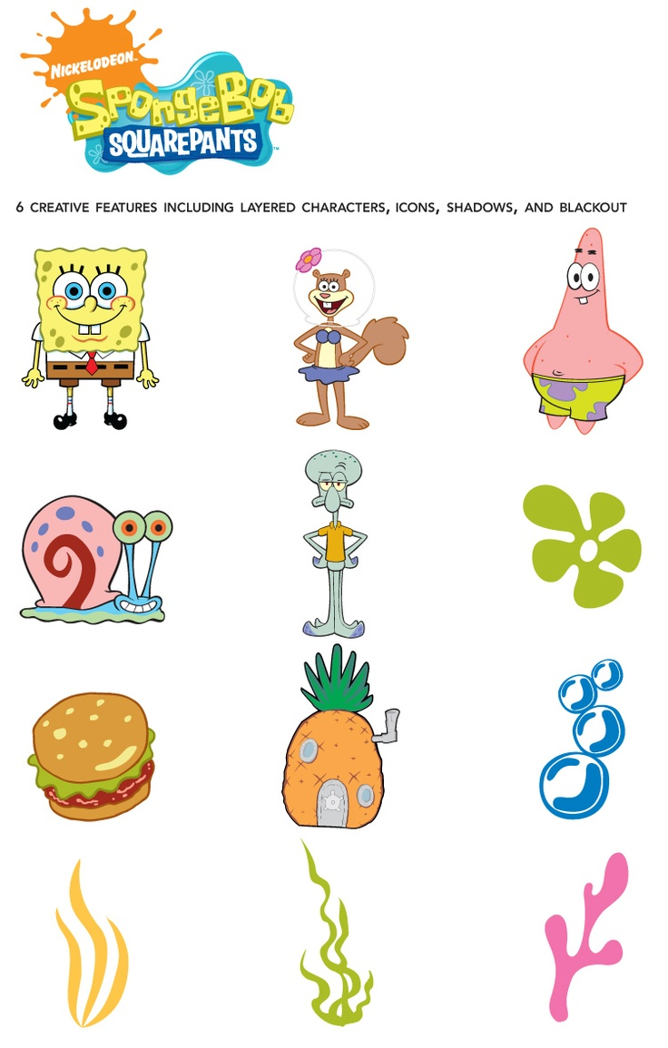Provo Craft - SpongeBob Squarepants