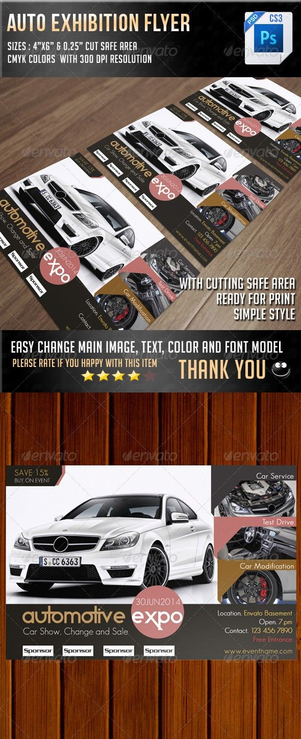 Car Show Flyer Template Free