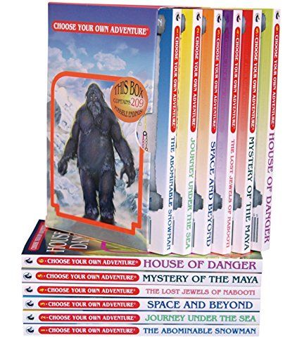 Six Book Boxed Set #1: The Abominable Snowman, Journey Under the Sea, Space and Beyond, The Lost Jewels of Nabooti, Mystery of the Maya, House of Danger
