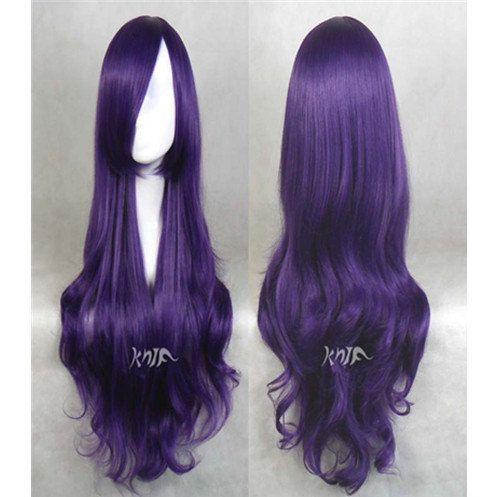 Cosplay Wig 32 Inchespurple Wavy Harajuku Wigs Hair