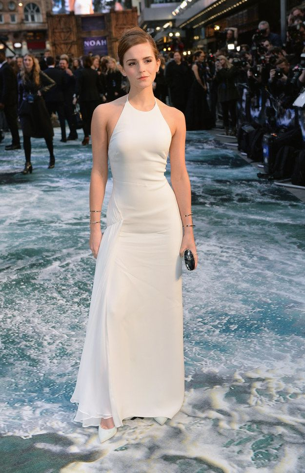 And when she made us all want to wear white after Labor Day.   23 Times Emma Watson Proved She Is A Style Icon