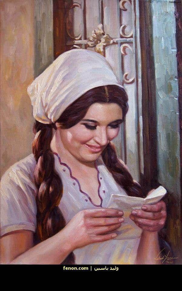 لوحة فنبة لممثلة سعاد حسني