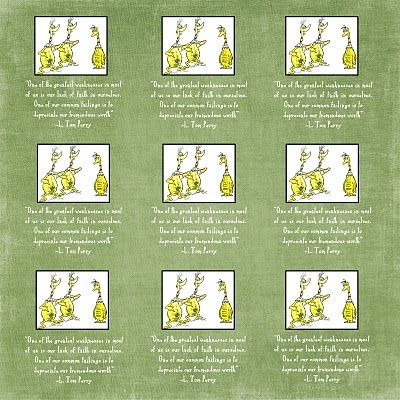 Frolicking Night Owl: The Sneetches - Girls Camp Devotional or Young Women Handout