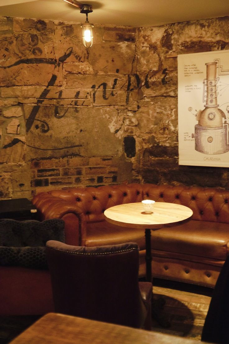 Cosy underground bar Heads & Tales is the perfect place for some cocktails in Edinburgh.