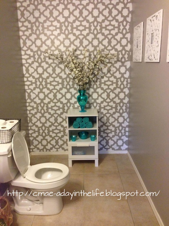 Quick inexpensive bathroom makeovers home is where the for Fast bathroom remodel