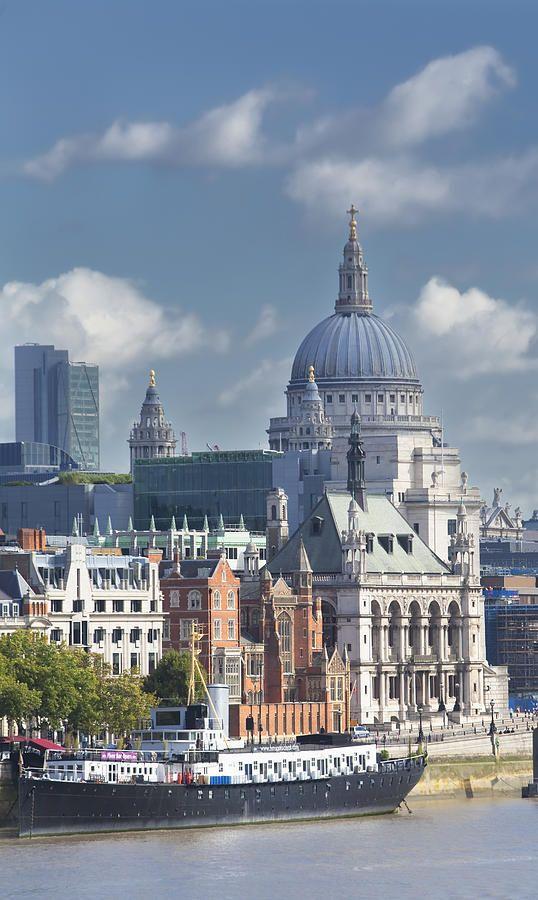 Londres desde el Támesis .