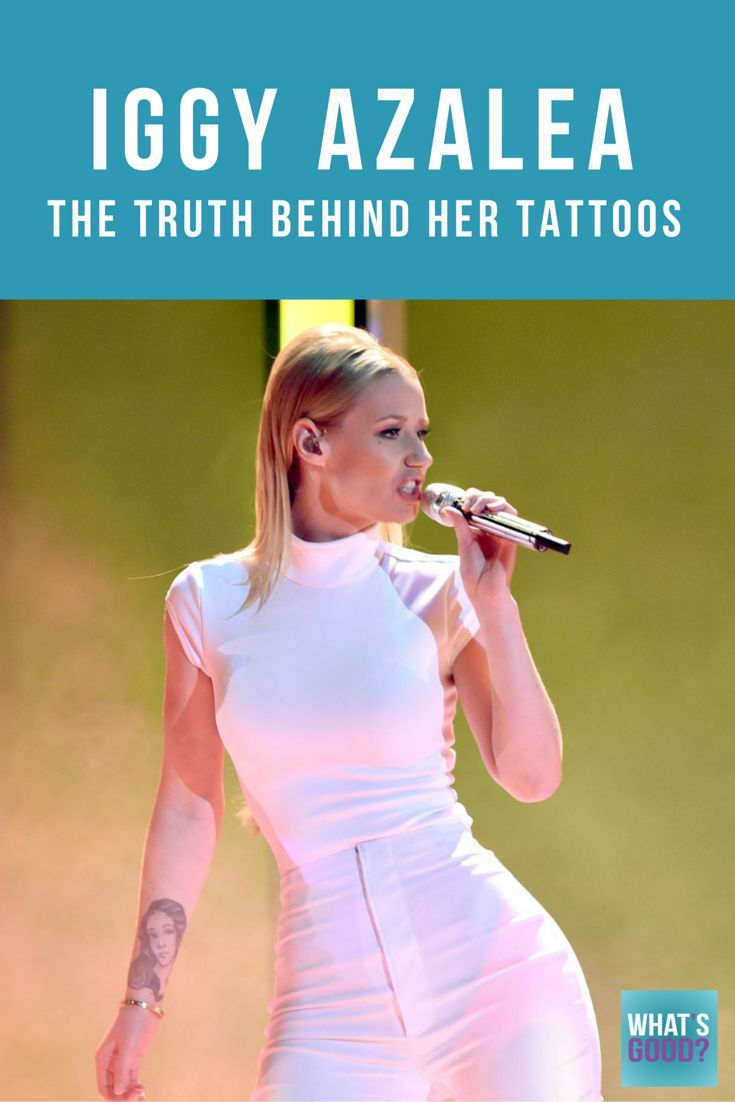 Iggy Azalea's tattoos pay a huge role in her life. Iggy got her first tattoo back in 2010 and has been addicted ever since. The hot southern sounding rapper seems to be on top of the world right now, but life hasn't always been so easy for the Australian-born rapper.