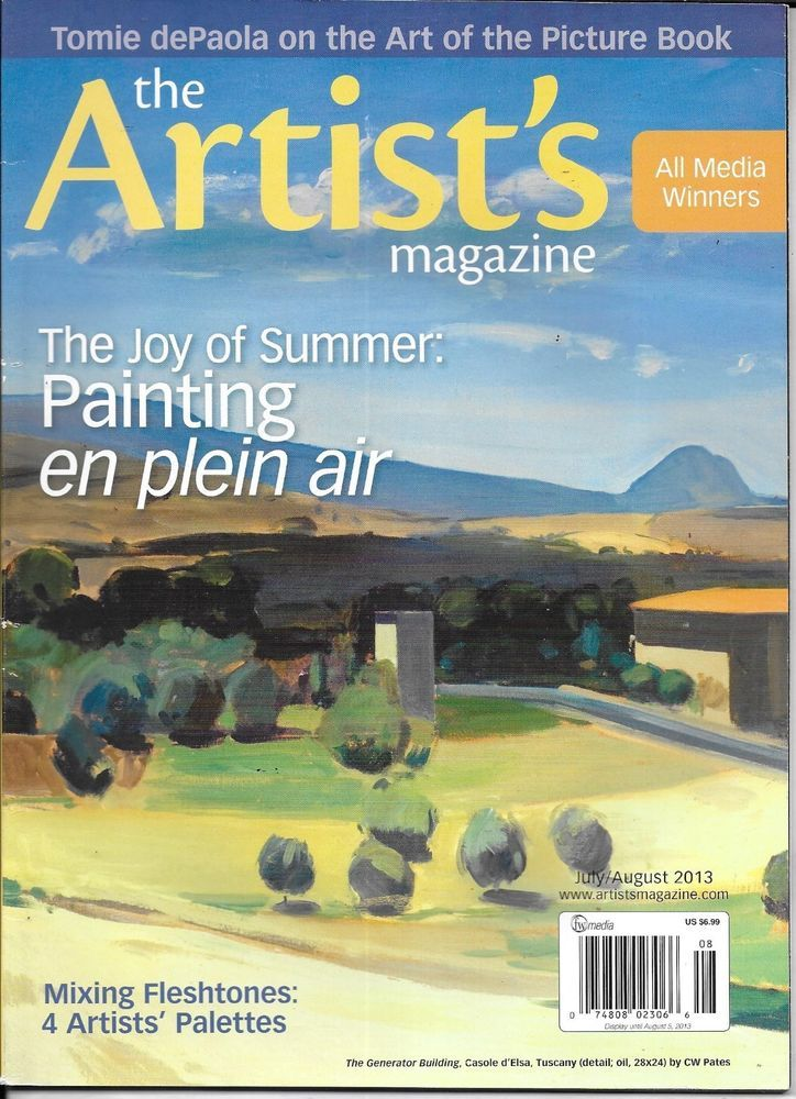 The Artists magazine Painting plein air Mixing flesh tones