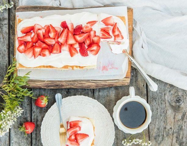 Världens enklaste sommartårta