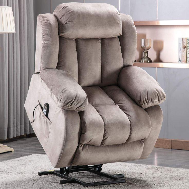 Anj power lift recliner chair with massage heat