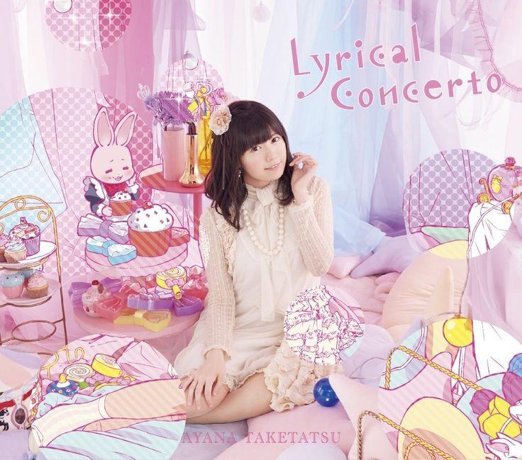 Amazon.co.jp: 竹達彩奈 : Lyrical Concerto(完全限定版)(Blu-ray Disc付) - ミュージック