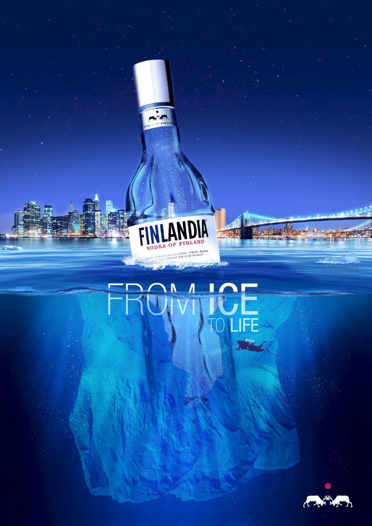 Vodka Finlandia - Jaime Bregantin - Art Direction, Design & Illustration.