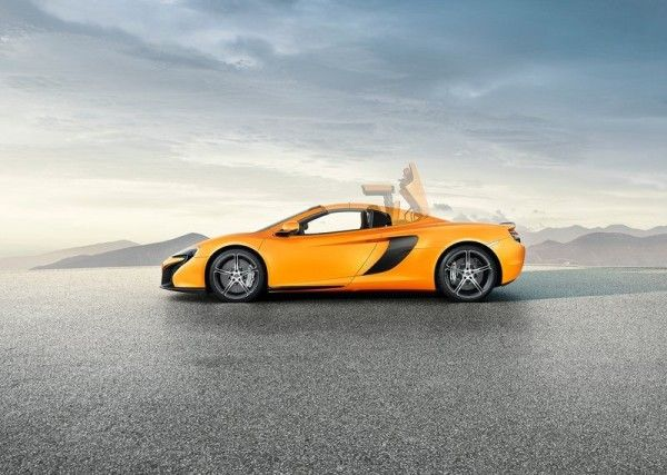 2015 McLaren 650S Spider release this year 600x427 2015 McLaren 650S Spider Review Details