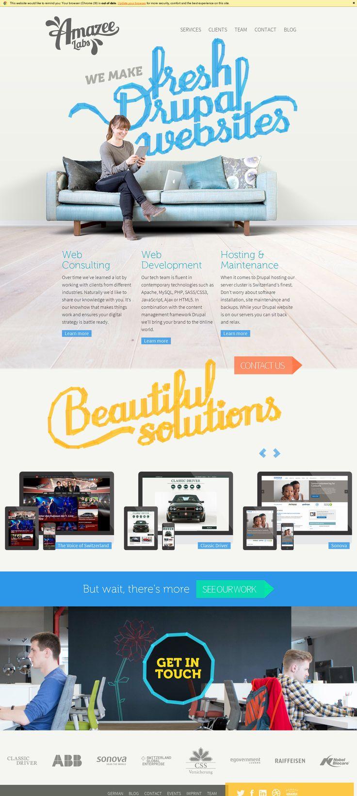 Screenshots of http://www.amazeelabs.com/en - URLCAP
