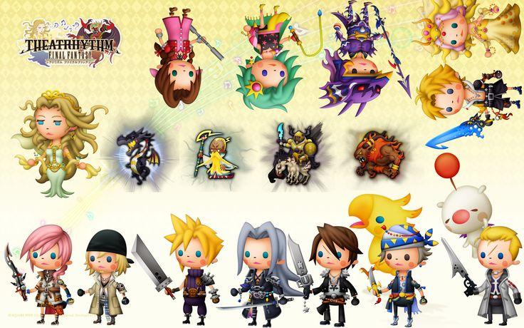 Final Fantasy Theatrhythm :)
