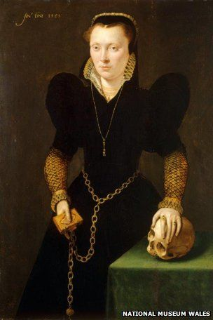 A portrait of a 16th Century Welsh noblewoman was discovered in the art collection of leading Nazi Hermann Goering. What was it doing there?