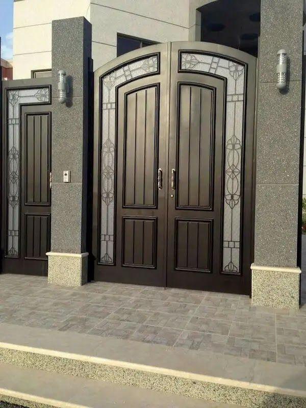 Decorab ديكورات أبواب حديد مودرن 2020 مزايا رائعة مع تصا House Gate Design Door Gate Design Entrance Gates Design