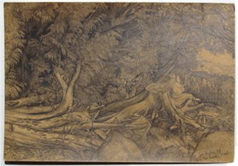 "EJ Hughes ""Near 3rd Beach, 1950""Pencil Signed and titled in pencil Hughes, E.J. Image: 8 1/2"" x 12 1/8"" CDN $19,000"