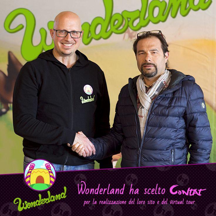 Wonderland - Parco giochi al coperto, del Città Sant'Angelo Village, ha scelto Contat Digital Agency per la realizzazione del loro sito e del Virtual Tour! #wonderland #contat #partnership #virtualtour #website