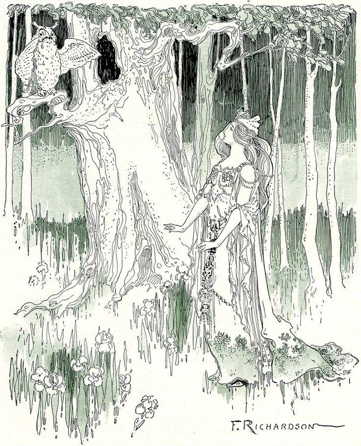 1905 QUEEN ZIXI OF IX; L. FRANK BAUM, FREDERICK RICHARDSON; 1st Edit/2nd Impress