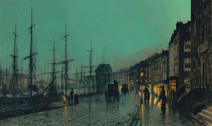 Shipping on the Clyde - John Atkinson Grimshaw (1881)