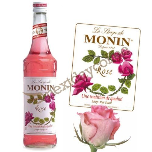 Mini Monin Syrup - Rose (250ml)