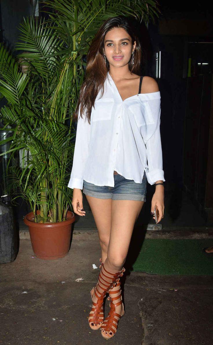bollywoodmirchitadka: Nidhhi Agerwal Snapped at Silver Beach Cafe In Juh...