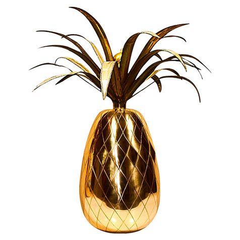 Настольная лампа Miranda Pineapple, стекло, Delightfull.