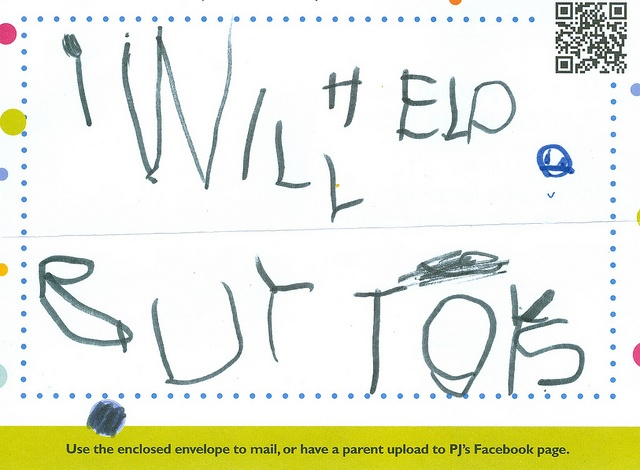 """Buying Toys"" This submission wants to use their tzedakah to help buy toys."