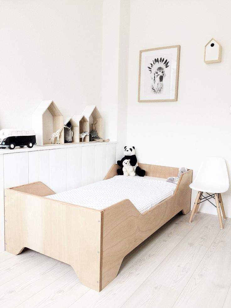 cute wood bed frame